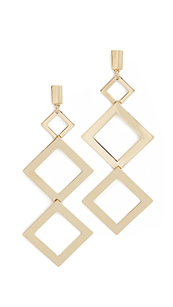 Adia Kibur Taylor Tier Earrings