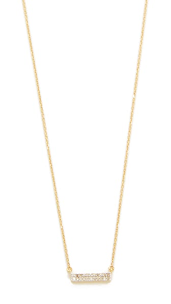 Adina Reyter Double Wide Bar Necklace