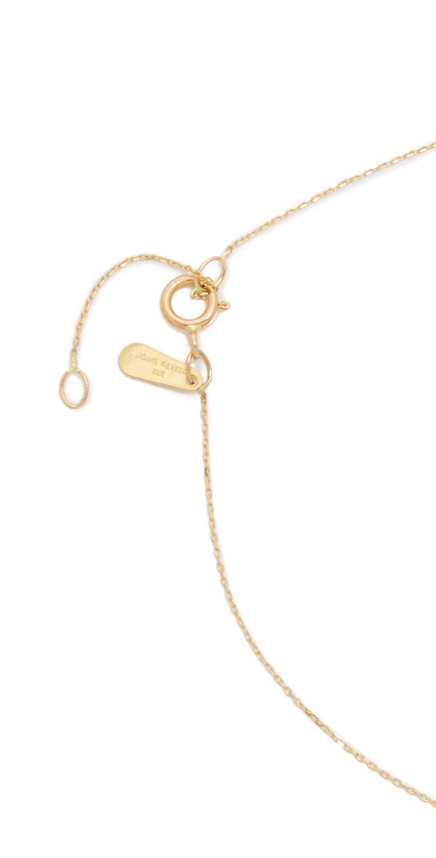 Adina Reyter Turquiose + Diamond Bar Necklace