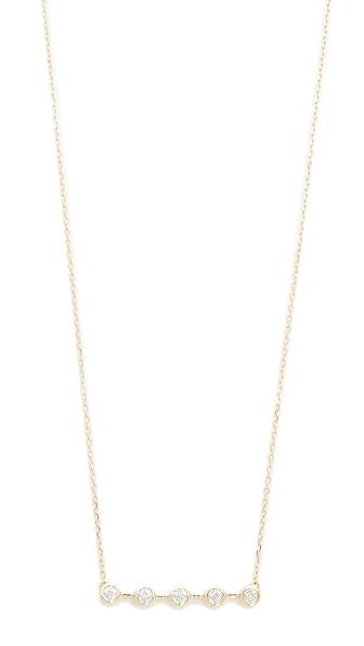 Adina Reyter 14k Gold 5 Diamond Necklace - Gold