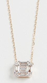 Adina Reyter Multi Baguette 14k Necklace