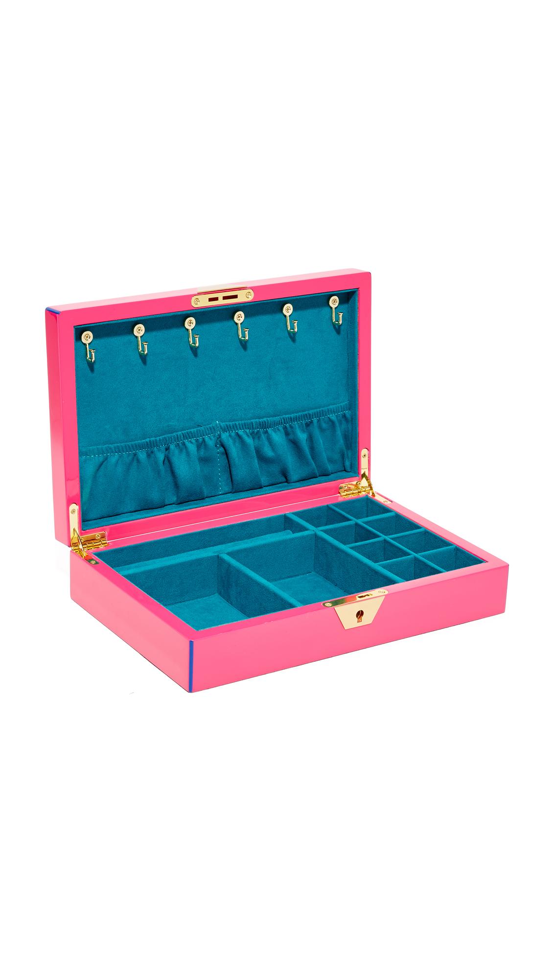 Jonathan Adler Jewelry Box - Fuchsia