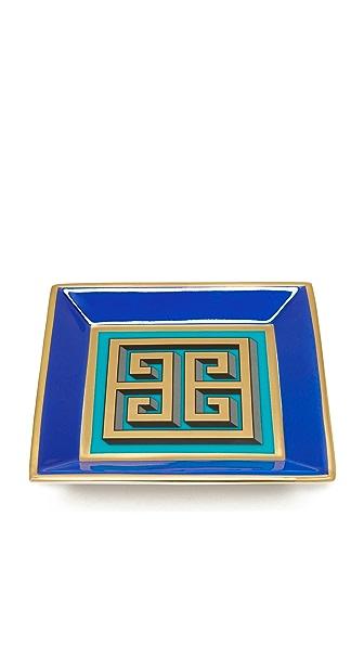 Jonathan Adler Mykonos Square Tray - Blue