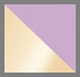 фиолетовый/золотистый