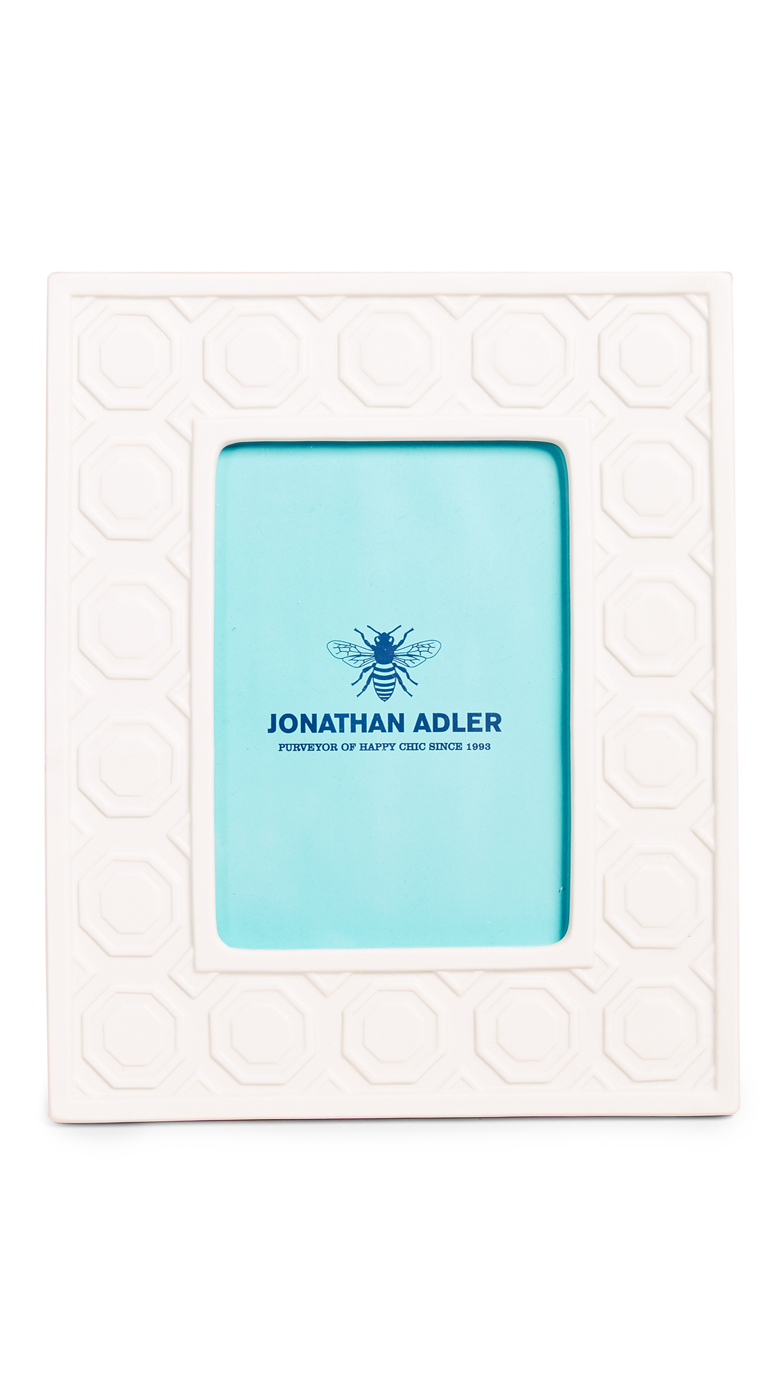 Jonathan Adler Charade Moulding 5x7 Frame - White