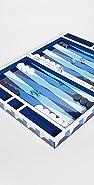 Jonathan Adler Sorrento Backgammon Set