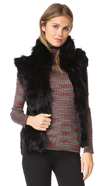 Adrienne Landau Rabbit & Fox Accent Vest