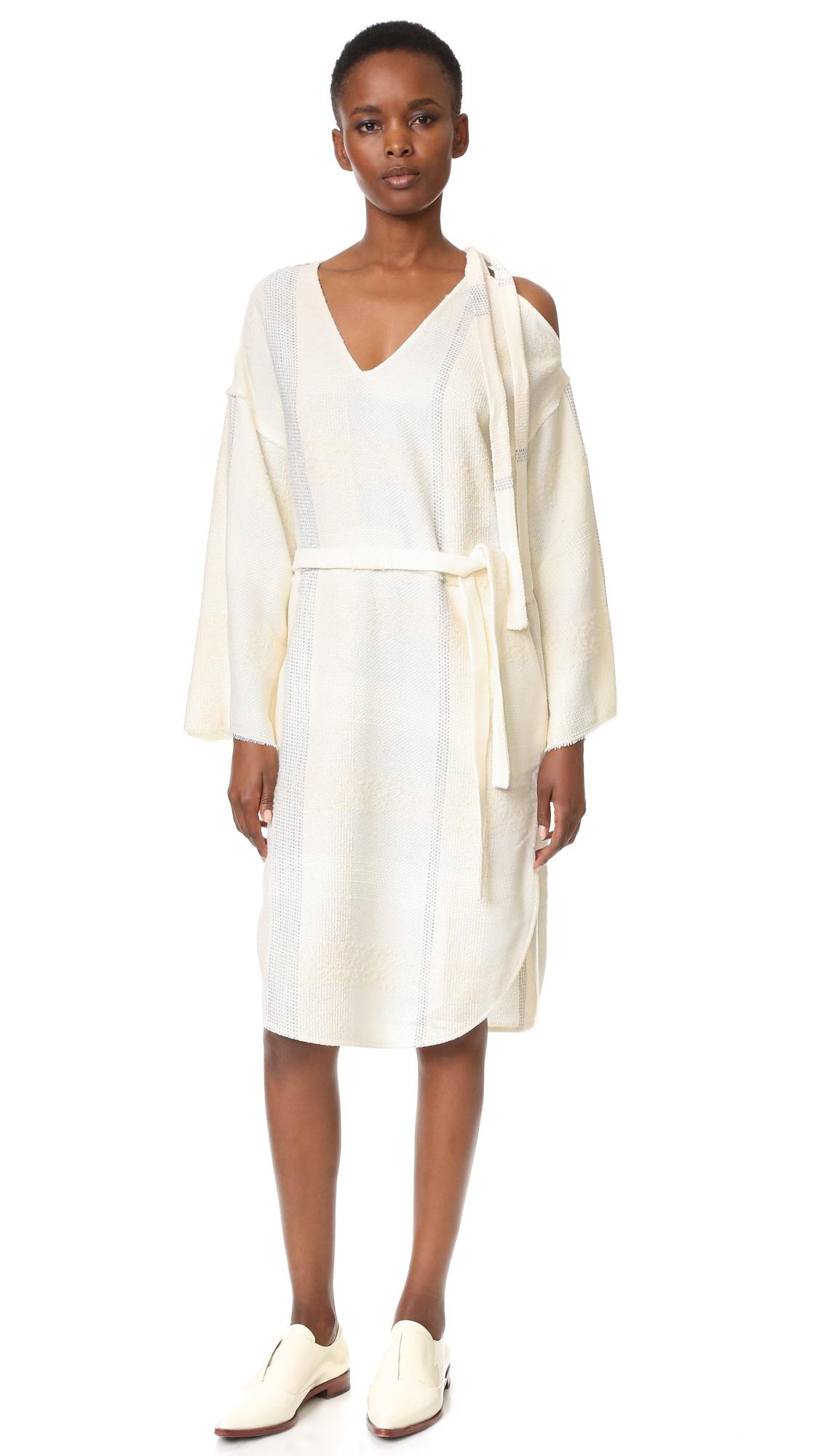 Aeron Knit Tie Dress - Cream at Shopbop