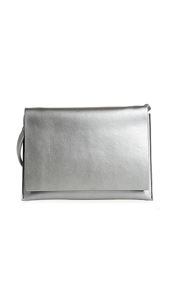 AESTHER EKME Leather Shoulder Bag
