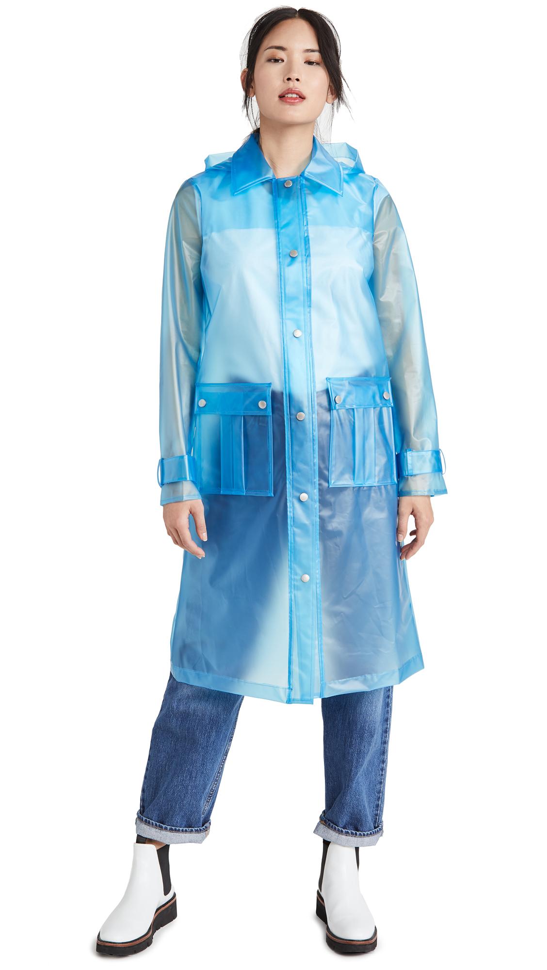 Buy Avec Les Filles Translucent Hooded Rain Coat online beautiful Avec Les Filles Jackets, Coats, Trench Coats