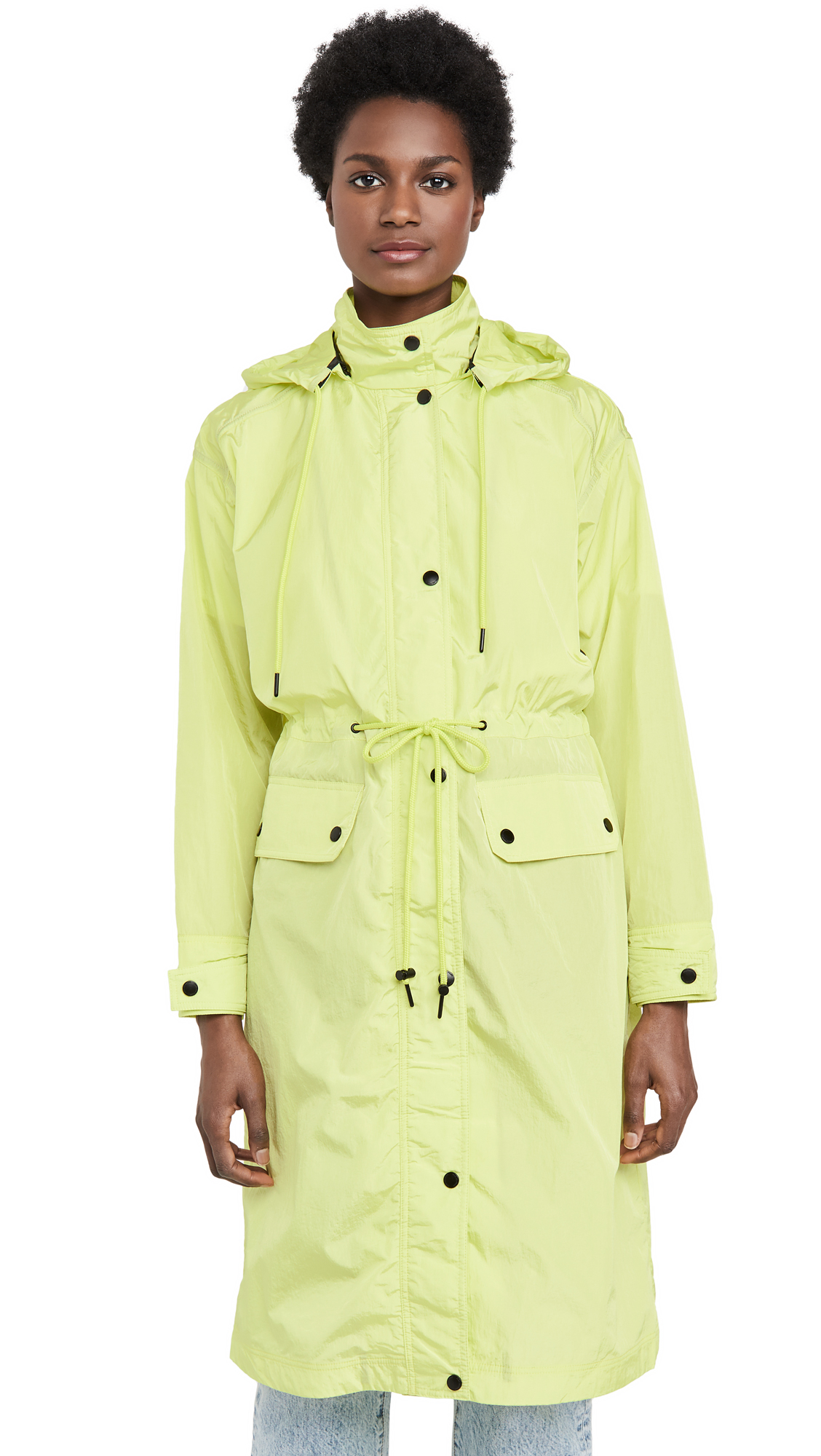 Buy Avec Les Filles Oversized Nylon Rain Anorak online beautiful Avec Les Filles Jackets, Coats, Trench Coats