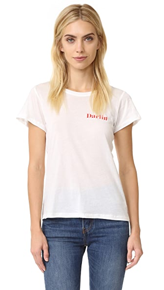 A Fine Line 'Darlin' Tee - White at Shopbop