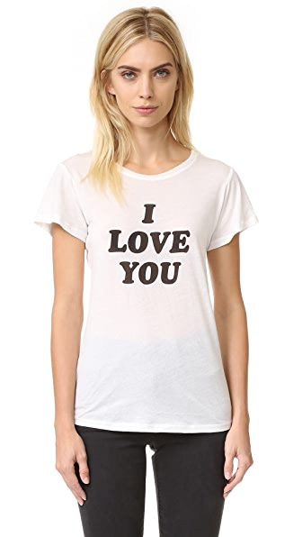 A Fine Line 'I Love You Sometimes' Tee - White at Shopbop