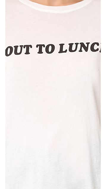 A Fine Line 'Out to Lunch' Tee