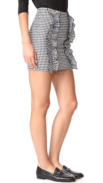 After Market Ruffle Mini Skirt