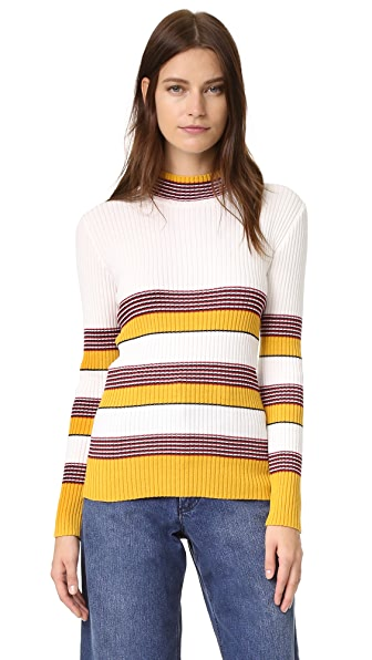 Again Brooklyn Sweater - Mustard at Shopbop