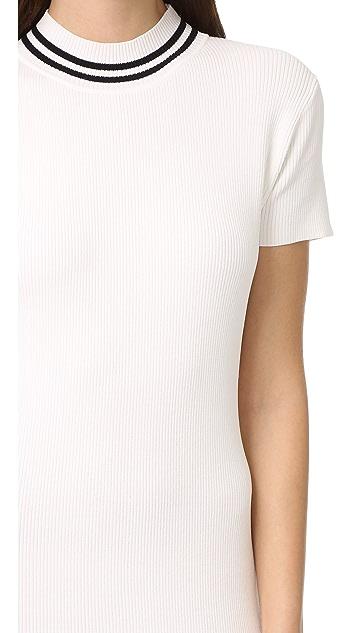 AGAIN Parker Midi Dress