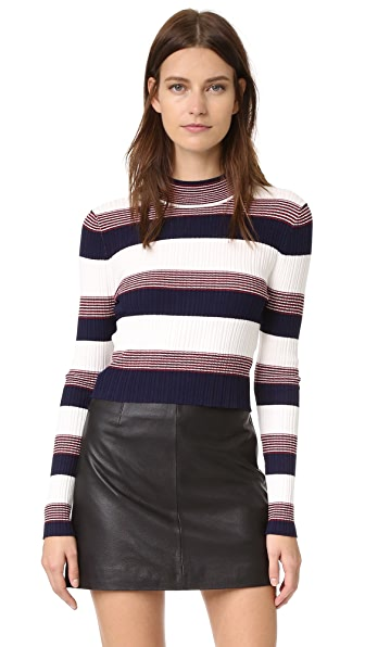 Again Winona Sweater - Navy at Shopbop
