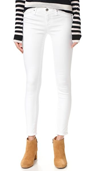 AG Legging Ankle Jeans - White
