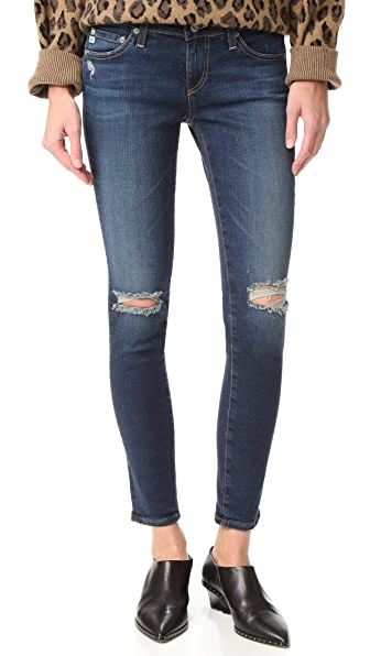 AG The Legging Ankle Jeans - 4 Year Fog