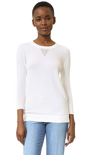 Ag Preston Sweater - True White at Shopbop