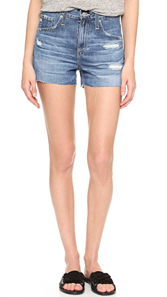Ag Sadie High Rise Shorts - 15 Years Anchorage at Shopbop