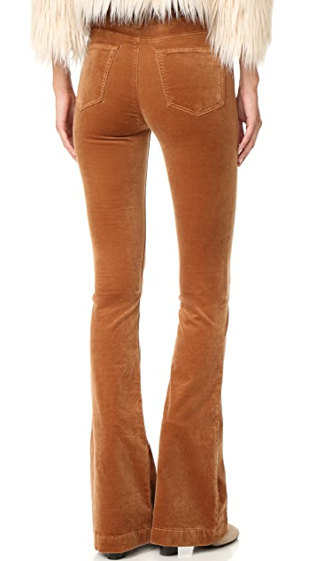 AG The Janis High Rise Flare Pants