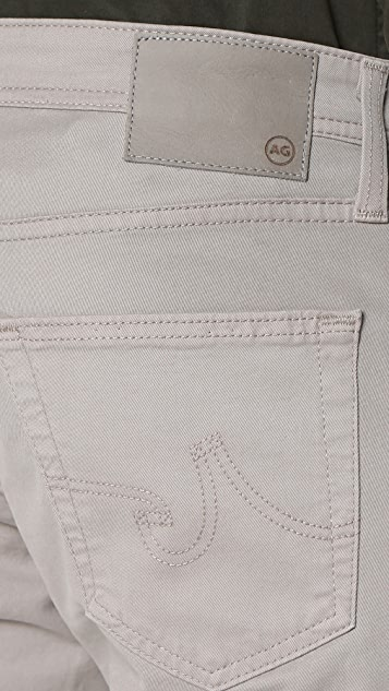 AG The Matchbox Brushed Twill Slim Straight Jeans