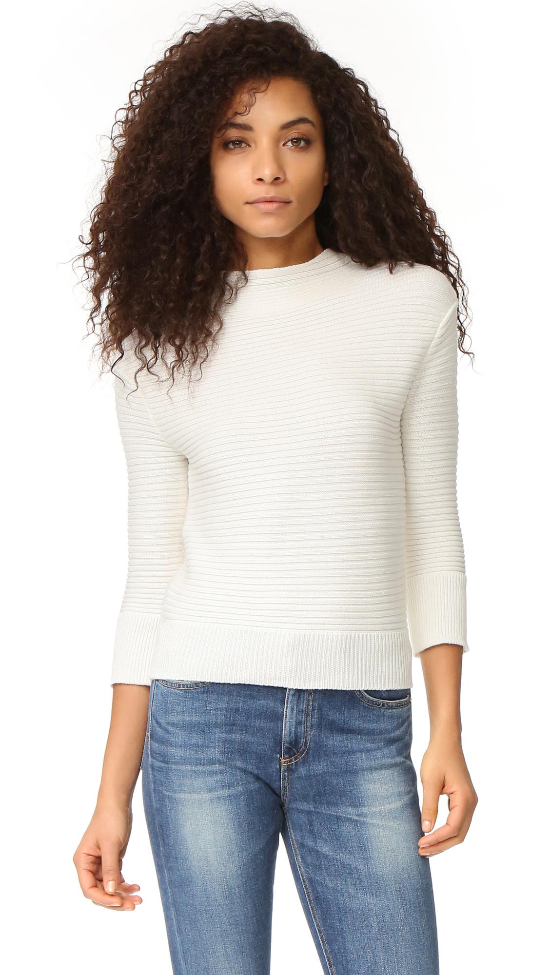 Ag Glove Sweater - Powder White at Shopbop