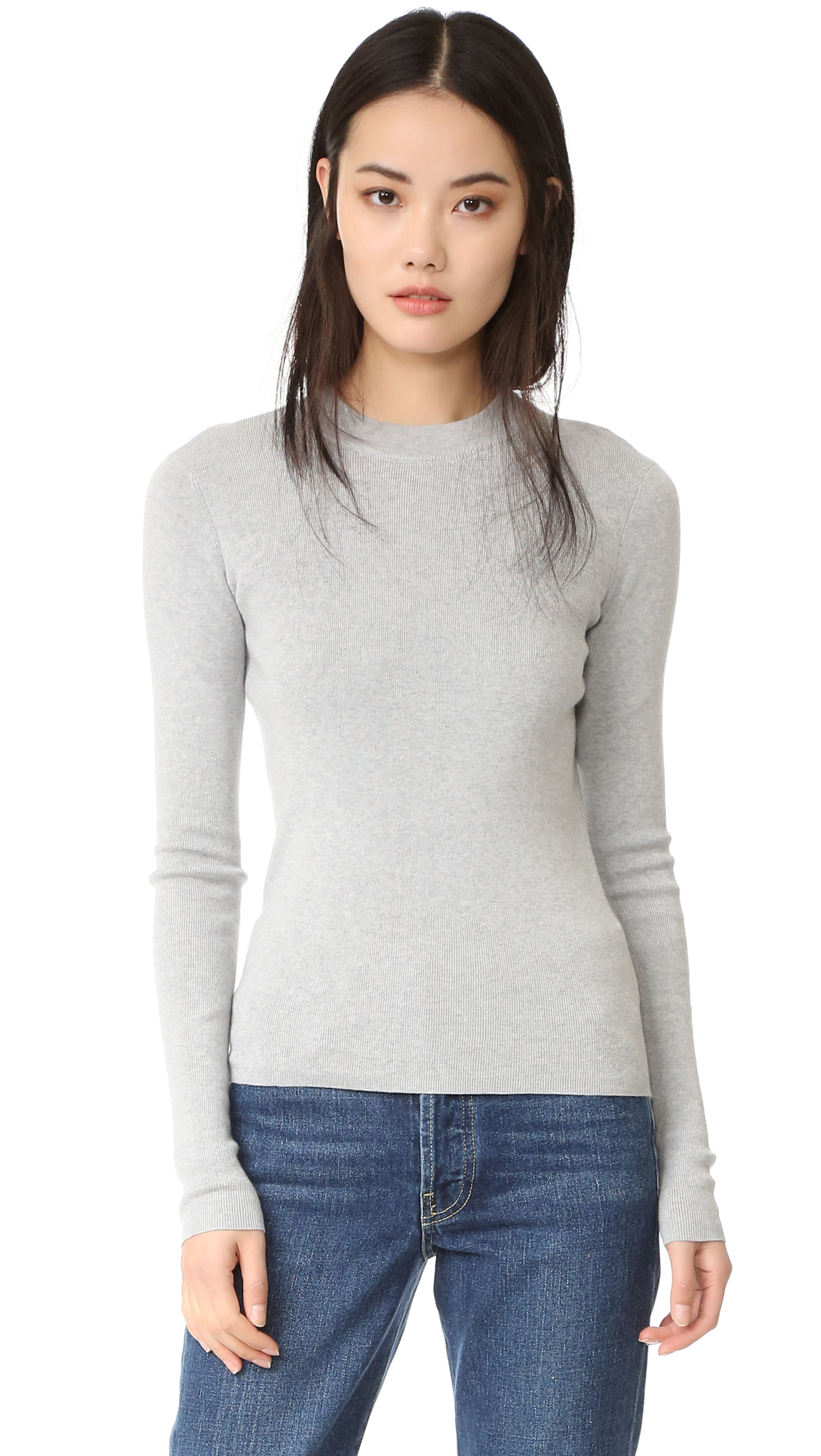 Ag Kendall Sweater - Heather Grey at Shopbop