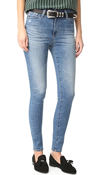 AG The Mila Super High Rise Skinny Jeans