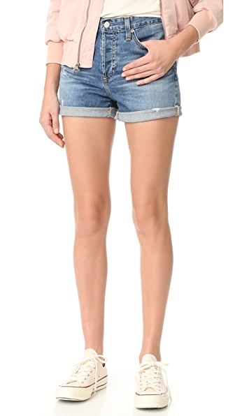 AG The Alex Boyfriend Shorts
