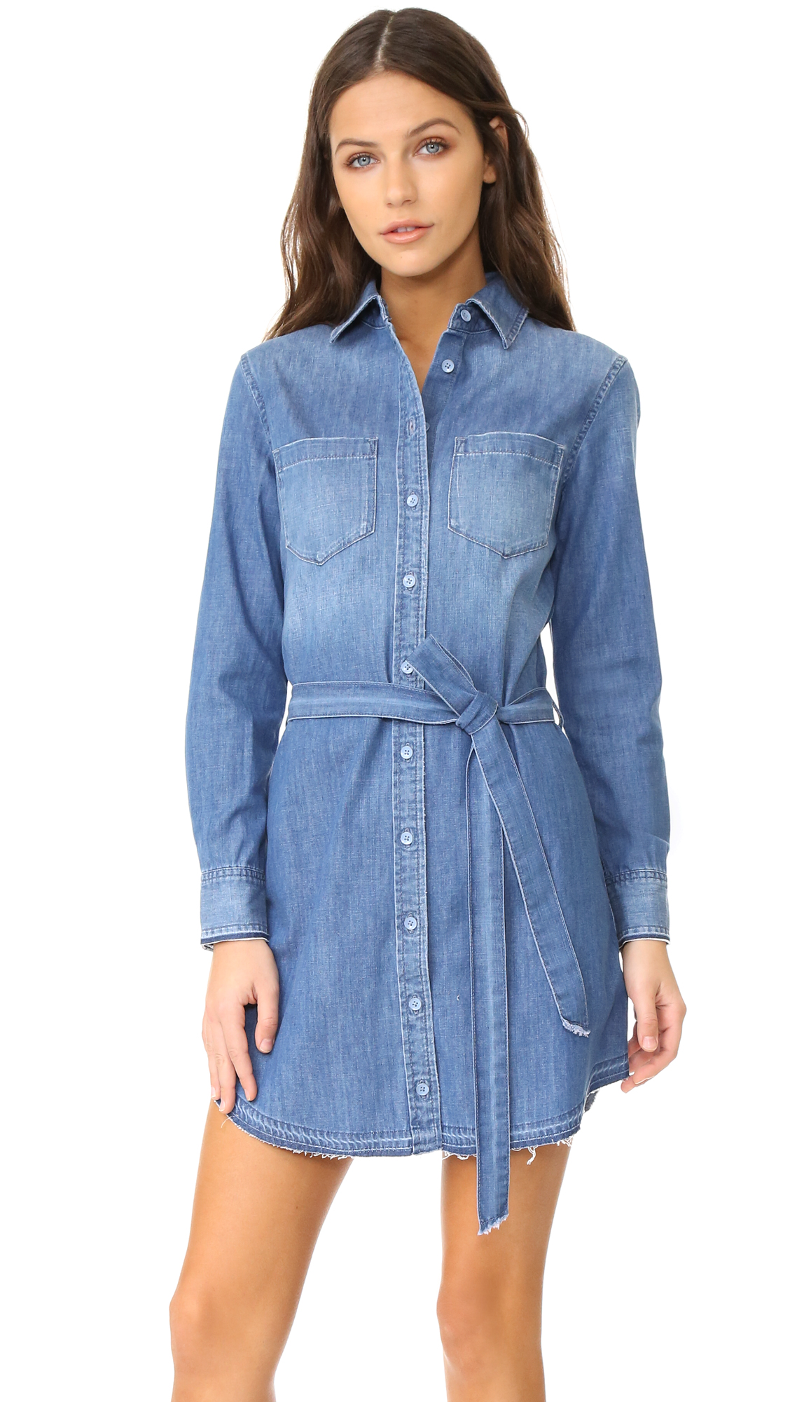 Ag Hartley Dress - Indigo Dawn at Shopbop