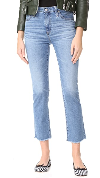 AG The Isabelle High Rise Straight Jeans - 14 Years Daring