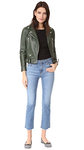 AG The Isabelle High Rise Straight Jeans