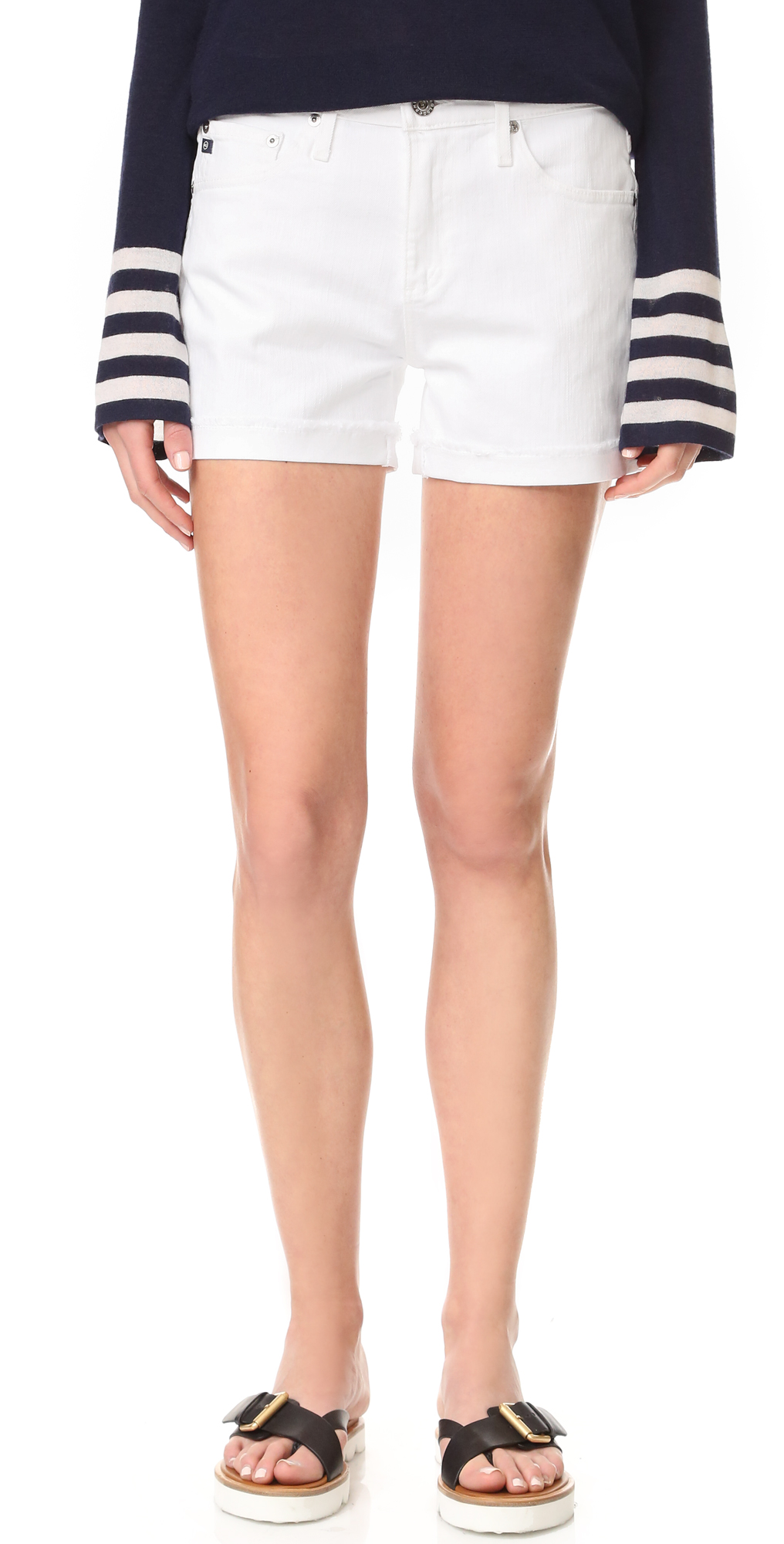 The Hailey Slouchy Shorts AG