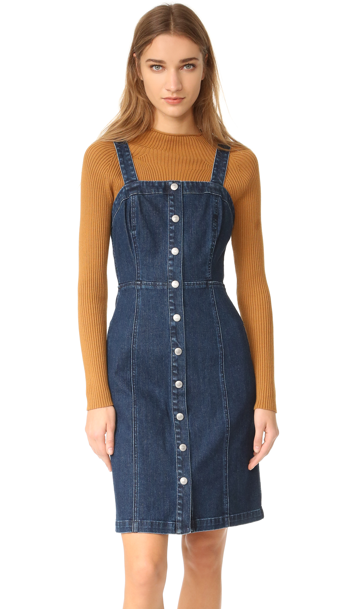 Ag The Sydney Fitted Button Down Dress - Renewal at Shopbop