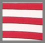 Parisian Red/True White Stripe