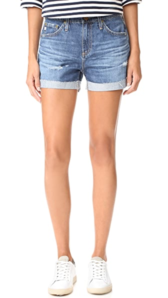 The Hailey Slouchy Shorts