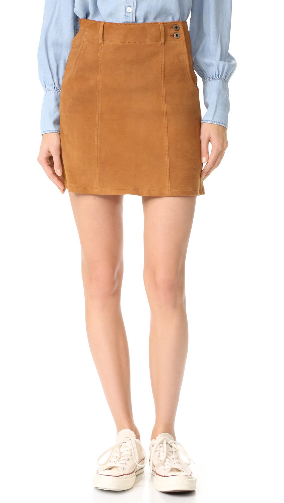 Ag The Juliette Skirt - Hazelnut at Shopbop