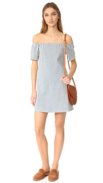 AG The Harley Off Shoulder Dress