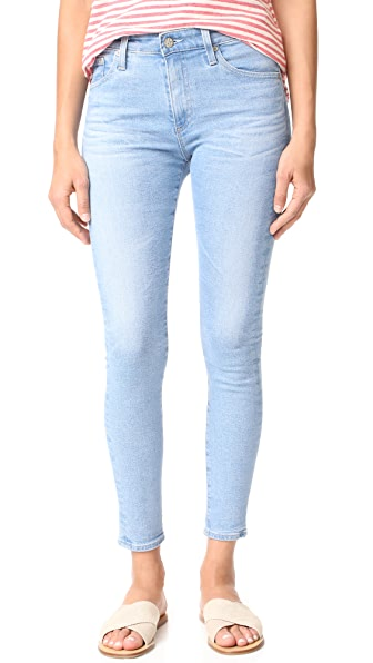 AG The Farrah Skinny Ankle Jeans - 19 Years Ransom