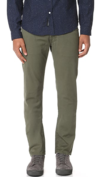 AG Sulfur Army Green Nomad Trousers