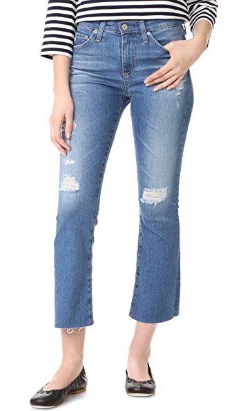 AG Jodi Crop Jeans - 12 Years Canyon Destroyed