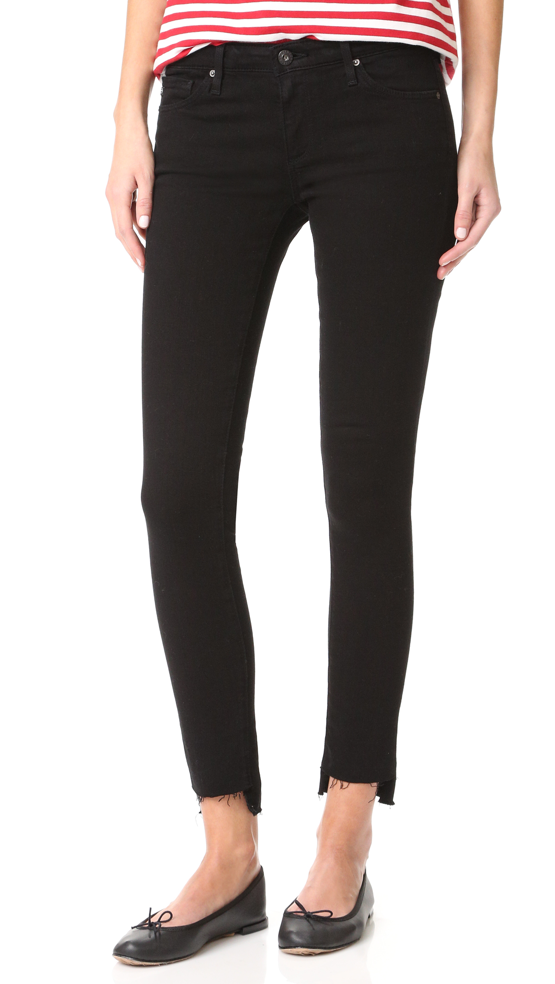 AG Legging Ankle Jeans - Black Ink