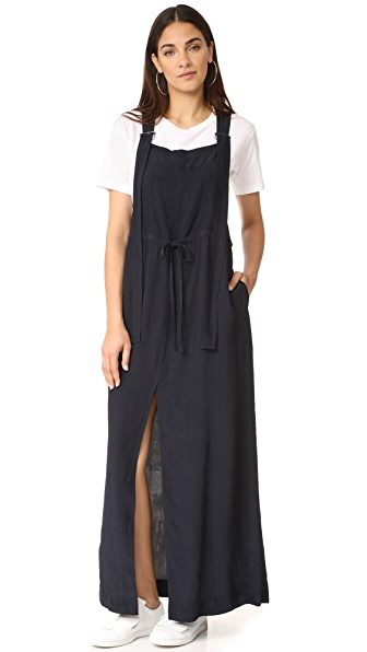 AG Linnea Overall Dress In After Dark