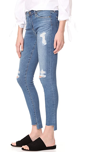 AG The Middi Mid Rise Ankle Jeans