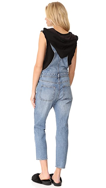 AG The Leah Led Overalls