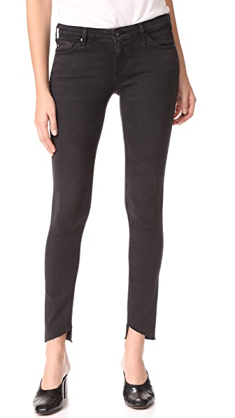 AG The Legging Ankle Jeans - Rustic Black