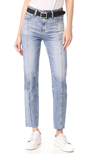 AG The Phoebe Restored Jeans In 18 Years Vaulted